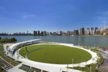 Hunter's Point South Waterfront Park Serves as a Model of Urban Resiliency in Handling Floodwater