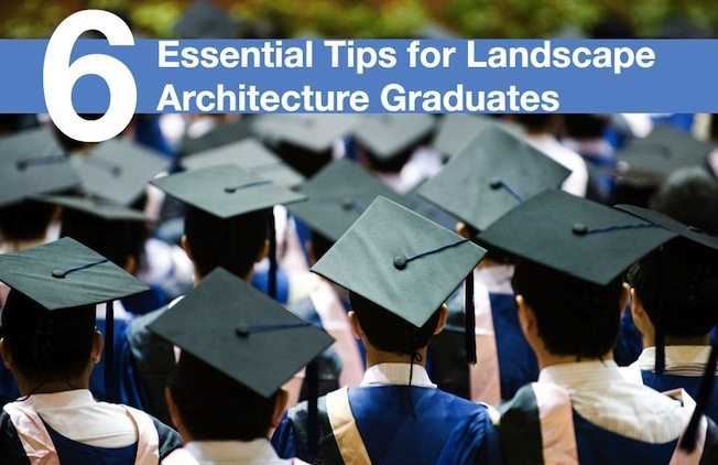 6 Essential Tips for Landscape Architecture Graduates