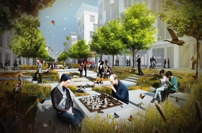 Landscape Institute' Creating Healthy Places Winners Explore Experimental Urban Design