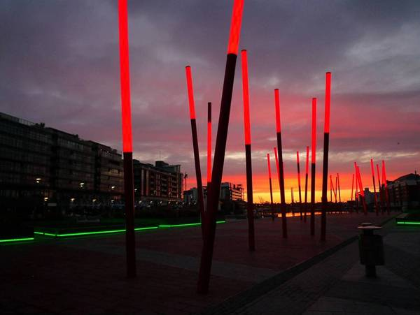 Grand Canal Dock; credit: Martha Schwartz Partners