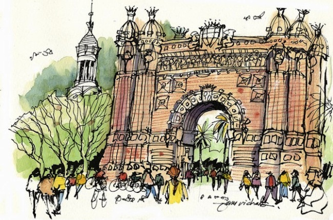 James Richards Interview on Travel and Urban Sketching