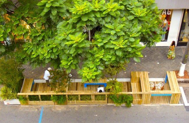 São Paulo Transforms Parklets into Public Policy