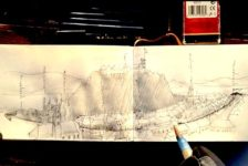 Hand Drawing Tutorial: Analytical Drawing – Urban Scenes