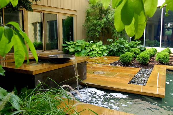 Award Winning Small Garden Design Land8
