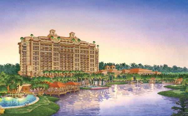Artistic impression of Four Seasons Orlando. Credit: EDSA