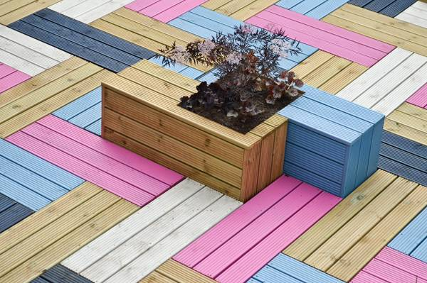 Planter in design. Credit: Studio Weave