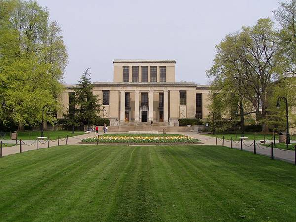Study Landscape Architecture - The Pattee Library and mall at Penn State University. Credit: CC BY-SA 3.0, by Nathaniel C. Sheetz