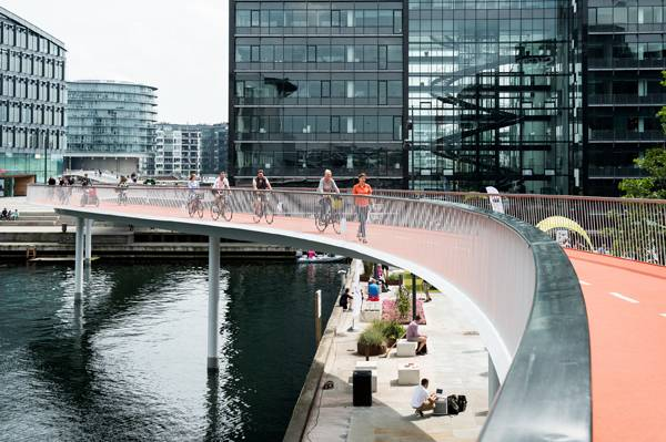 Can Copenhagen be the best cycling city in the world? Credit: DISSING+WEITLING