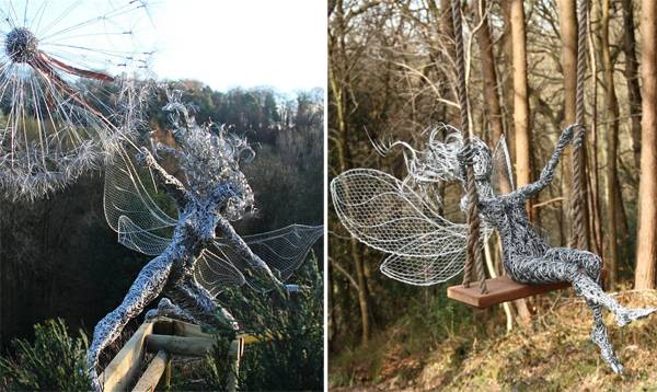Sculptures by Robin Wight. Credit: Fantasywire