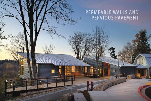 Education Centre -  J R Mercer Slough with permeable walls. Credit: Jones & Jones Architects and Landscape Architects