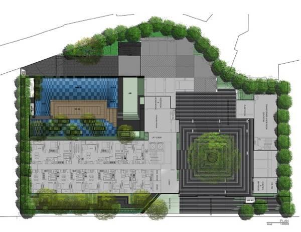 Plan of Via Botani. Credit: Openbox Architecture