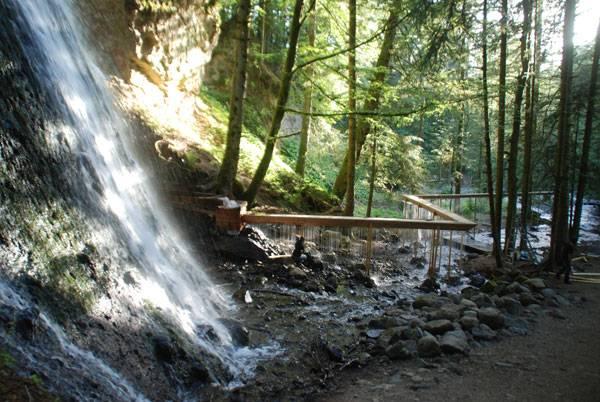 The Bridal Veil: Credit: www.louissicard.com