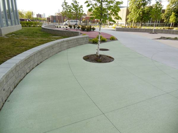 Cool pavements. Credit: copyright 2014 L. M. Scofield Company.