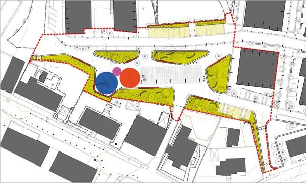 Park design - Atalaya Park Plan. Credit: G&C Arquitectos