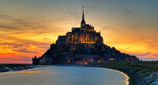 Mont Saint Michel. Photo credit: Kyriakos Stavrou,www.doglight
