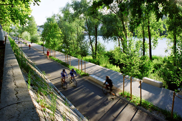 The Lyon River Bank. Credit: IN SITU Architectes Paysagistes.