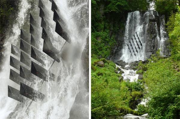 Stunning waterfall. Credit: Laurent Gongora
