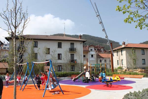 Park design - Time for a change at Atalaya Park. Credit: G&C Arquitectos