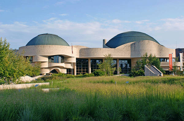 Photo credit: Canadian Museum of Civilization by Claude Comier Associates