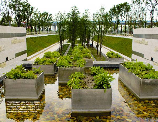 Lotus Lake Park Sets Precedent For Sustainable Urban Design In China Land8