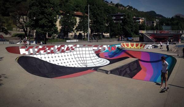 Landscape architecture - Skate park. Credit: Zuk Club
