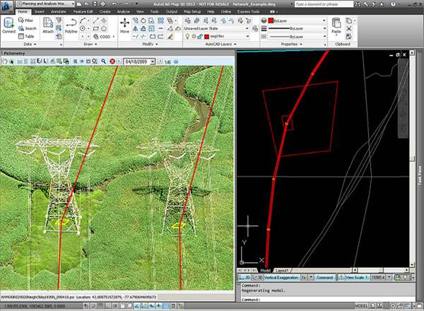 Pictometry for Autocad map 3D. Credit: @gletham GIS, Social, Mobile Tech Images; CC2.0