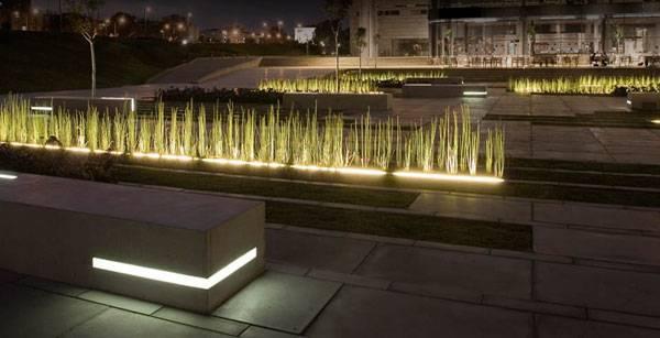 Landscape-Architecture - BGU University Entrance Square & Art Gallery. Photo credit: Sharon Yeari