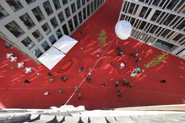 Landscape Architecture - Stadlounge St. Gallen-CH. Credit: CARLOS MARTINEZ
