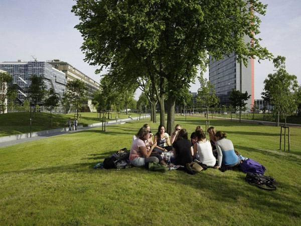 Landscape Architecture - Image credit: www.mecanoo.nl