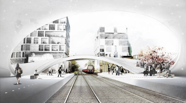 Photo Credit: Vinge S-Train Station by Henning Larsen Architects