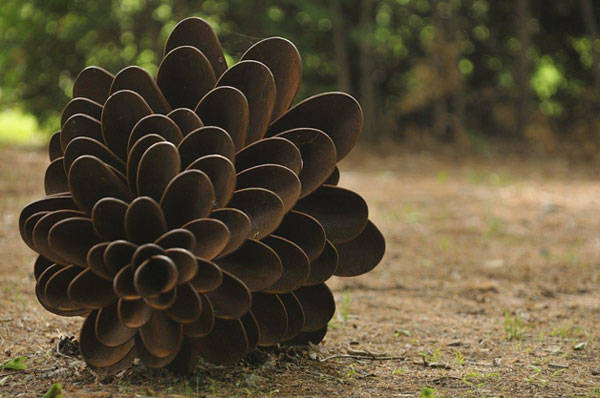 Photo credit: Upcycled Art Pine Cones by  Floyd Elzinga