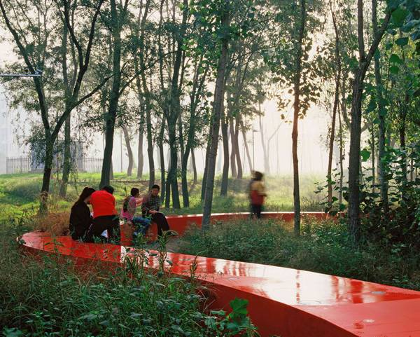Natural landscape - The Red Ribbon Park. Credit: Turenscape