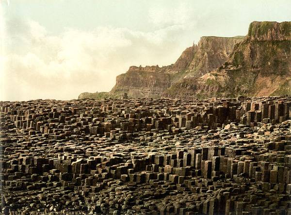 Giant's Causeway, County Antrim, Northern Ireland. Credit: BotMultichillT, Public Domain