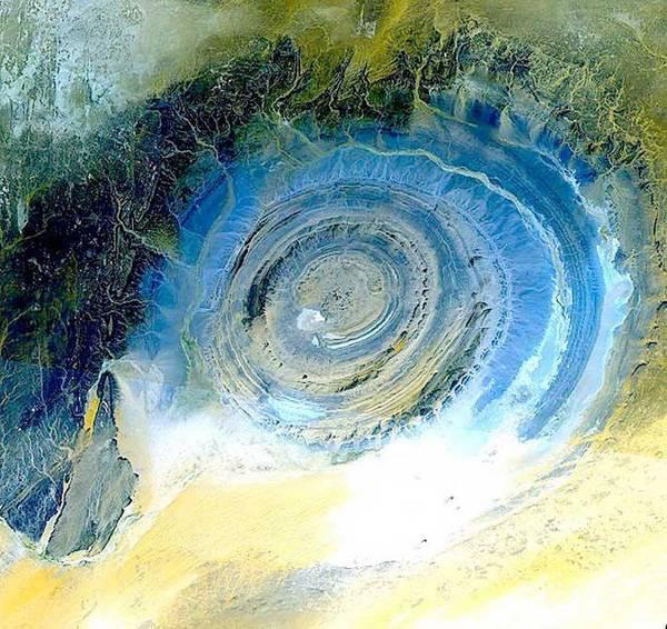 The Eye of the Sahara