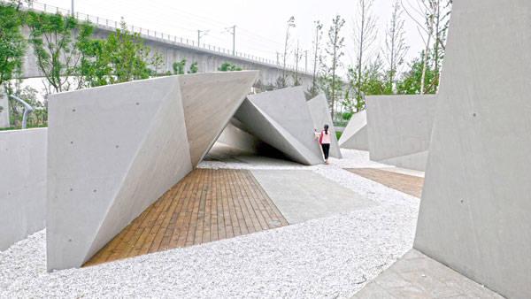 Photo Credit: Beijing Sunken Gardens by Plasma Studio and Groundlab, China; Holger Kehne