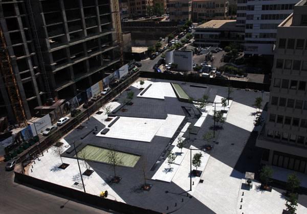 Zeitouneh Square site aerial shot (detail). Image credit: Tony El Hage