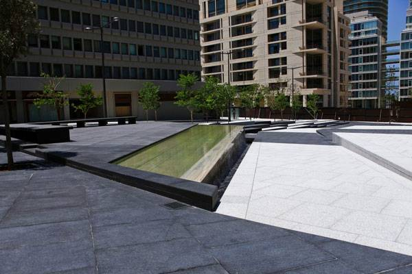 Zeitouneh Square design feature detail . Image credit: Tony El Hage