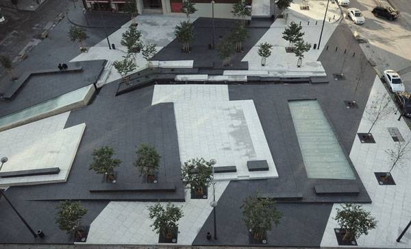 Zeitouneh Square.  Image credit: Gustafson Porter