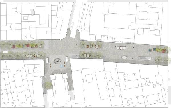 Masterplan of Mariahilferstrasse. Credit:  ureauBB/orso.pitro