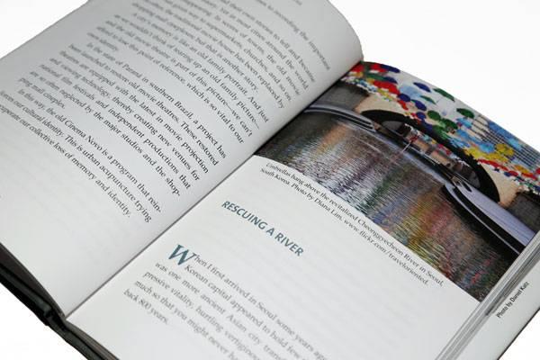 Urban Acupuncture, inside book. Photo credit: Sophie Thiel