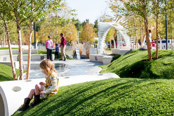 Klyde Warren Park. Photo credit: Mei Chun Jau