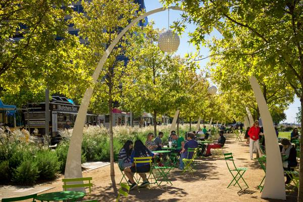 Klyde Warren Park. Photo credit: Gary Zvonkovic