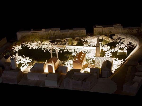 Aberdeen City Garden. Image courtesy of Mecanoo Architecten