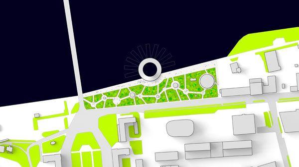 Masterplan for the Baltic Sea Art Park. Image credit: Kilometrezero