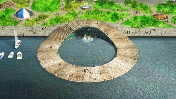 The Baltic Sea Art Park. Image credit: Kilometrezero