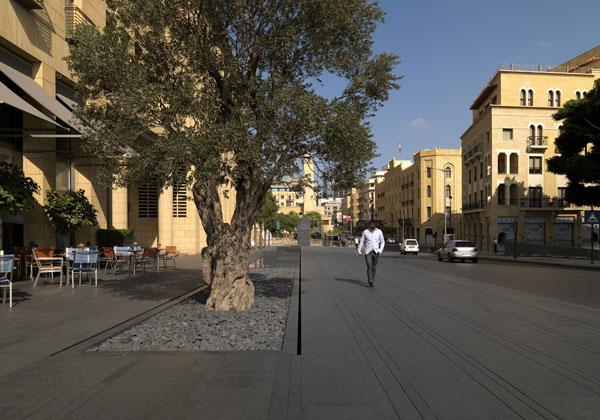 Photo Credit: Gebran Tueni Memorial, by Vladimir Djurovic Landscape Architecture, Beirut, Lebanon