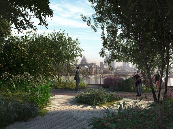 Garden Bridge. Image credit: ARUP