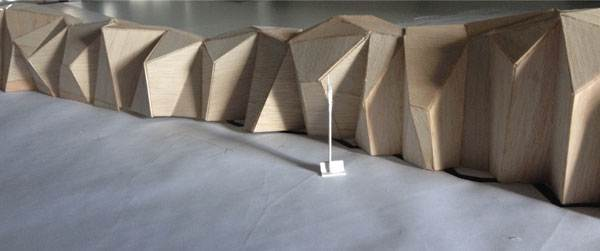 The model for Metamorphous. Photo courtesy of Paul Sangha Landscape Architecture