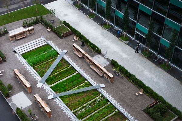 The Physic Garden. Photo credit: Thorbjörn Andersson with Sweco Architects