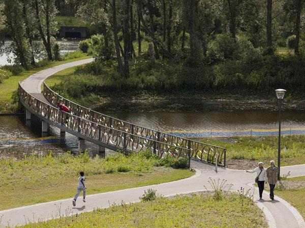 Nelson Mandelapark. Image courtesy of Mecanoo